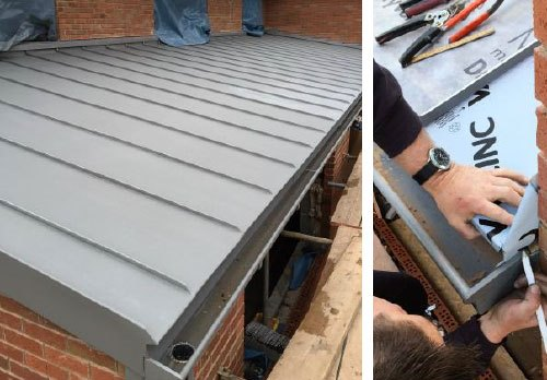 Vm Quartz Stourbridge Prestige Metal Roofing