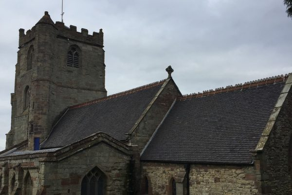 Church re-roofing