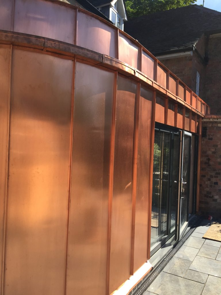 Mill Finish Copper Cladding Prestige Metal Roofing