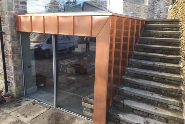 Mill Finish Copper Cladding
