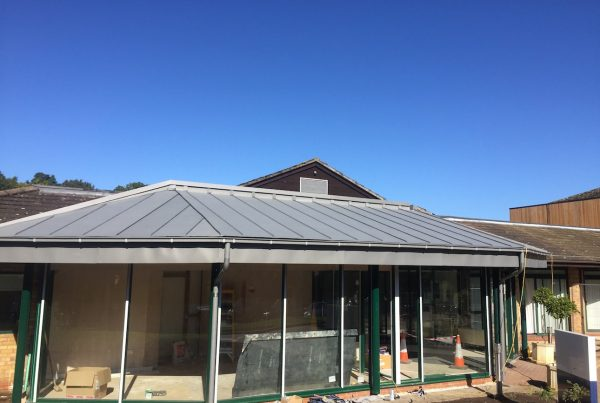 VM Zinc Roof Construction