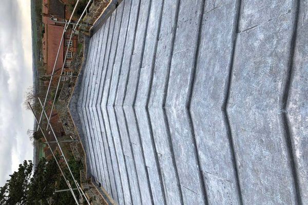 Lead-roofing